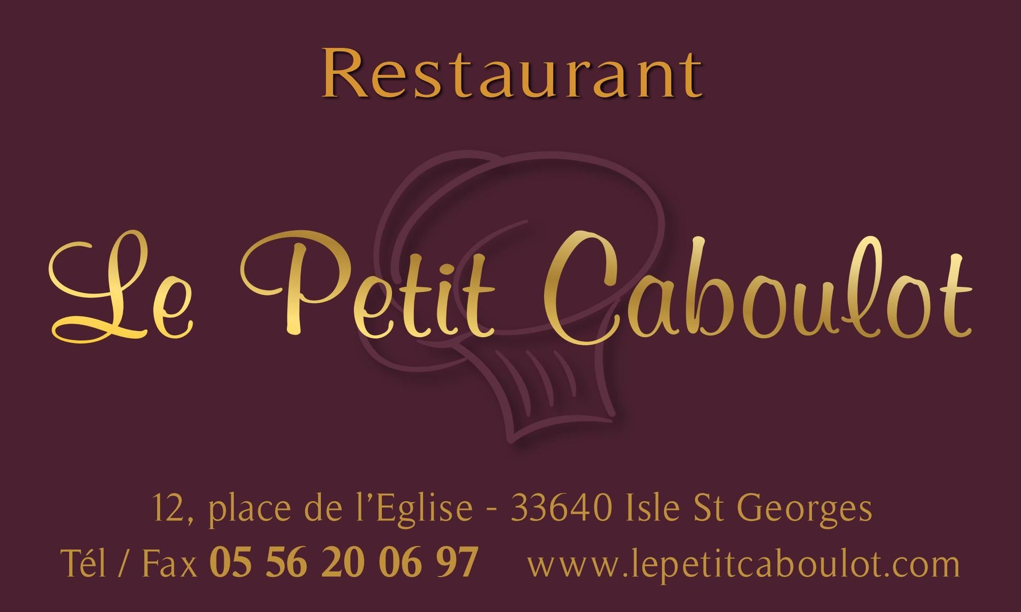 Restaurant le petit Caboulot